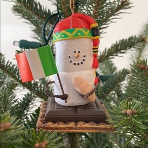 S'mores Italian Christmas Ornament